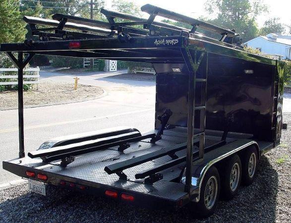 2008 American custom trailer Jet Ski Trailer , Black for sale in Rolling Hills, CA