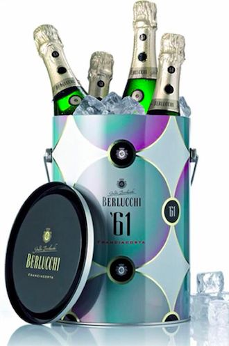 Berlucchi 61 Franciacorta and ice bucket #BerlucchiMood