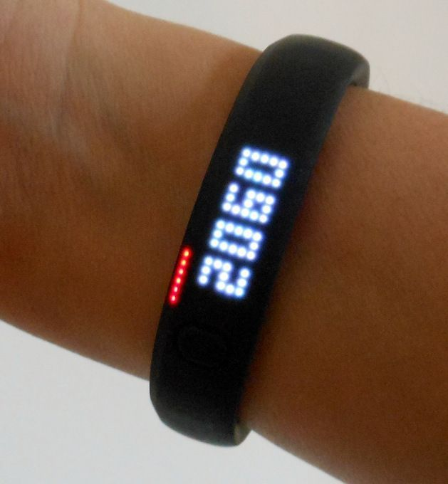 Apps and Monitors to Reduce Sitting Time: Nike+ FuelBand SE