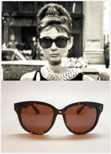 40f829475e00 Audrey Hepburn Breakfast at Tiffanys Sunglasses