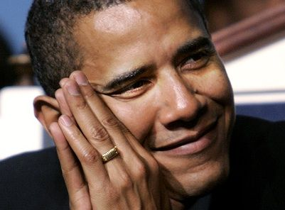 """THIS IS FRIGHTENING! A MUST READ! According to Arabic-language and Islamic experts, the ring Obama has been wearing for more than 30 years is adorned with the first part of the Islamic declaration of faith, the Shahada: """"There is no god except Allah."""" MANY pictures of him from college until now wearing the same ring. with close-ups of the inscription."""
