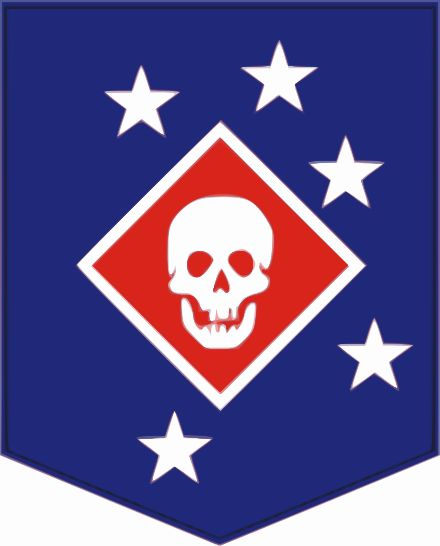 """Marine Raider insignia.  TheMarine Raiderswere elite units established by theUnited States Marine CorpsduringWorld War IIto conductamphibiouslight infantrywarfare, particularly in landing inrubber boatsand operating behind the lines. """"Edson's"""" Raiders of 1st Marine Raiders Battalion and """"Carlson's"""" Raiders of 2nd Marine Raiders Battalion are said to be the firstUnited States special operations forcesto form and see combat in World War II."""