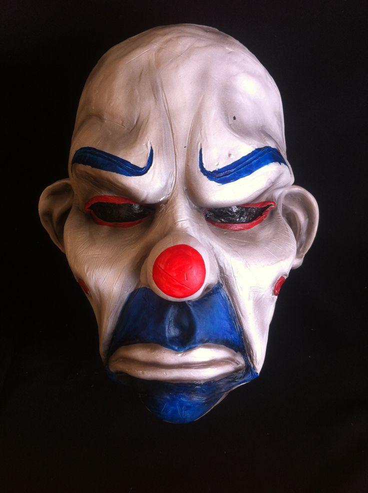Joker bank robber latex mask www.facebook.com/maskshopchile