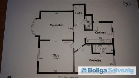 Østerbro 26, 1. th., 9000 Aalborg - Andelslejlighed i hjertet af Aalborg #andel #andelsbolig #andelslejlighed #aalborg #selvsalg #boligsalg #boligdk