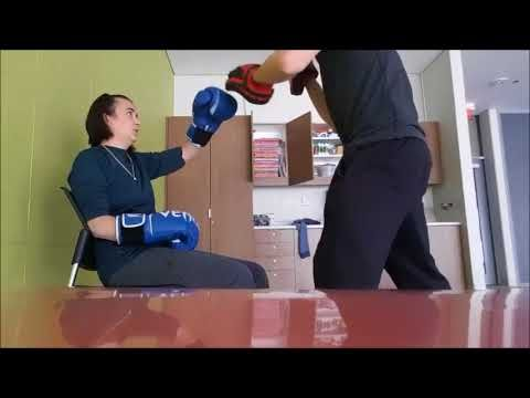 Fitness with Julie- Featuring my PT Trevor- BOXING