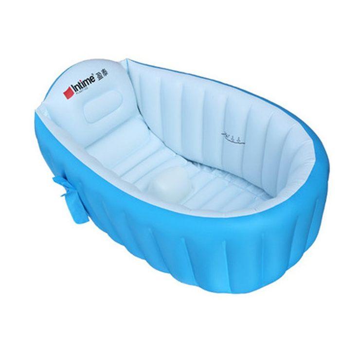 Webetop Bassin-Baignoire d'été Portable gonflable pour la douche de bébé,bleu: Amazon.fr: Sports et Loisirs