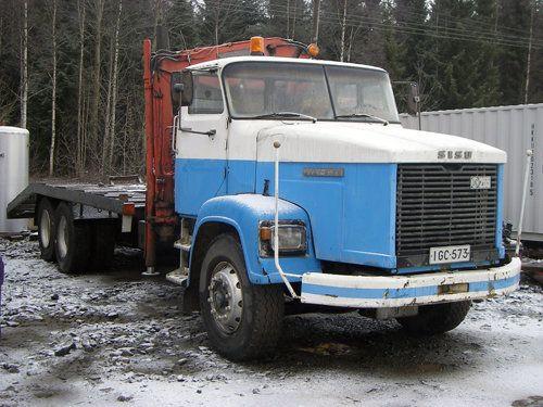Sisu 79 + Hiab 550 - Kuorma-autot | A. Hirvonen Oy