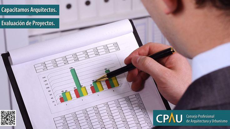 CAPACITAMOS ARQUITECTOS | EVALUACIÓN DE PROYECTOS  La elaboración, desarrollo y gestión de nuevos emprendimientos requieren incorporar las herramientas económico financieras que permitan seleccionar los negocios adecuados, descartar los malos negocios, planificar y gestionar las acciones en el tiempo para optimizar los resultados.   Docentes: Arq. Sergio Topor Días: Jueves de 18 a 21hs Inicia:  25 de agosto  Requiere Inscripción Previa.  Más info: http://ly.cpau.org/2aKqxyE