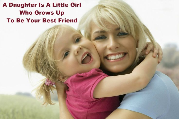 Through out the Life, #Mother is the #BestFriend to her Daughter.