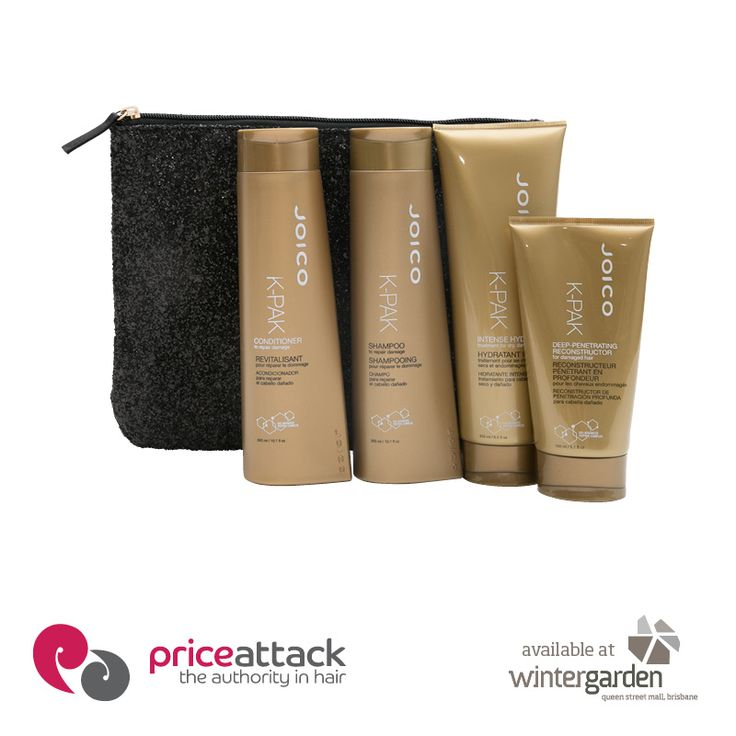 A great pack to treat your tresses!