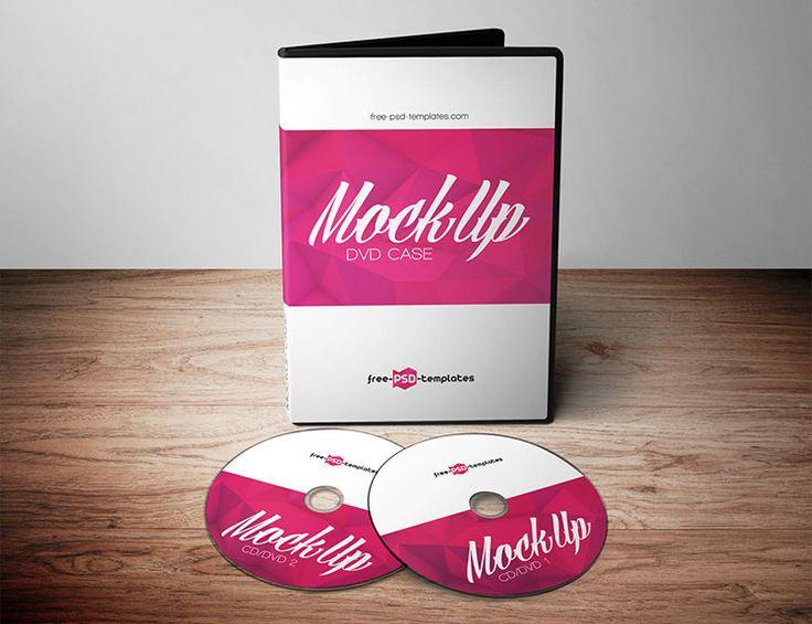 3 Free DVD Mockups