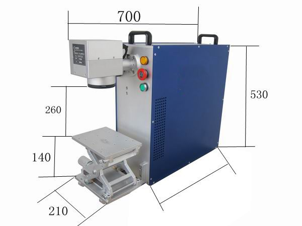 Industrial Fiber Laser Marker For Small Metal Tools Permanent Laser Solution Laser Marking Metal Tools Etching Machine