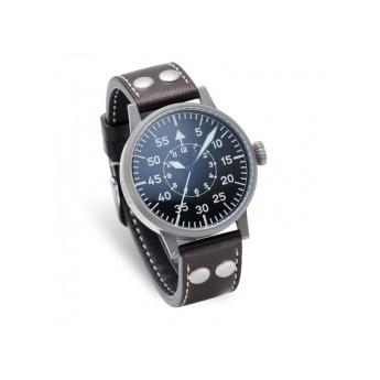 Reloj de Piloto Laco   http://www.tutunca.es/reloj-de-piloto-laco-dortmund-45-mecanico-negro-cuero-marron