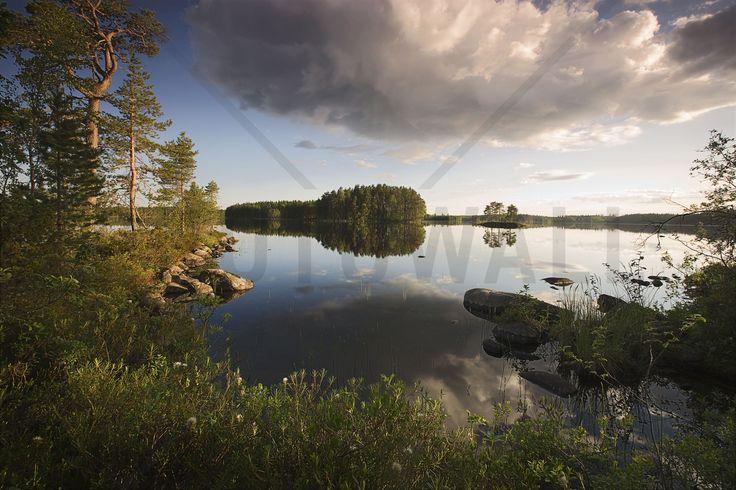 Swedish Summer Landscape - Fototapeter & Tapeter - Photowall