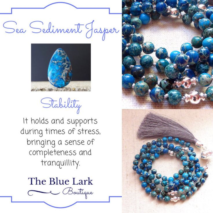 Discover my instagram account @thebluelarkboutique and the healing properties of semiprecious stones ❤️️🔮📿