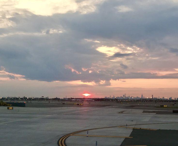 Sunrise @ Newark Liberty International Airport