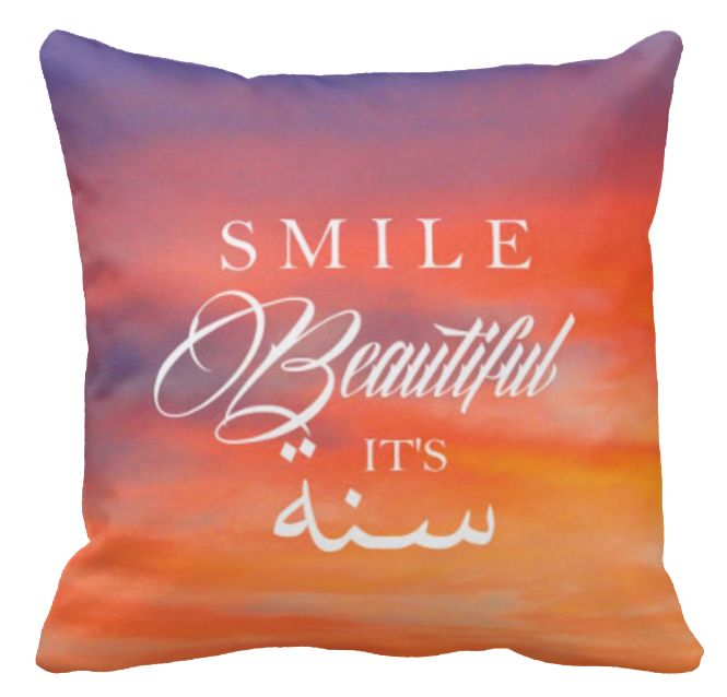 Smile Beautiful Pillow Cover