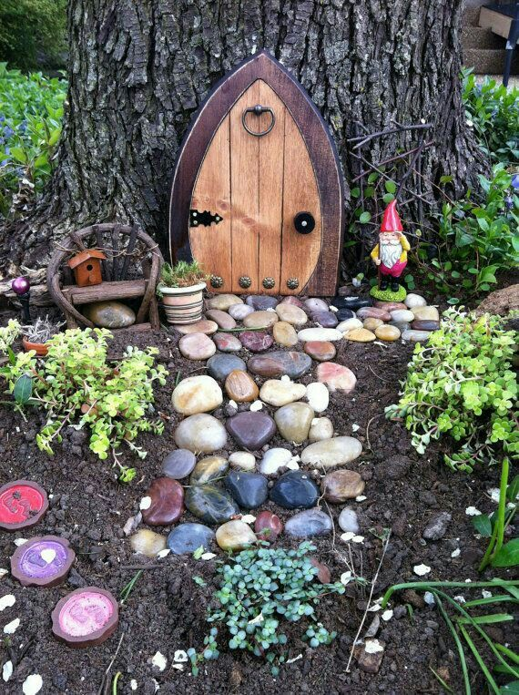 12 best fairy gnome village ideas images on pinterest for Idea behind fairy doors