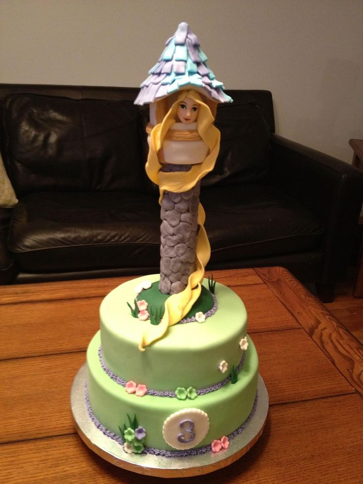 17 Best ideas about Rapunzel Cake on Pinterest Rapunzel ...