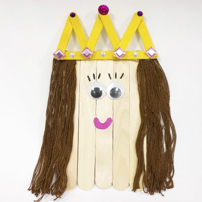 Explore the alphabet with our A to Z Crafts! Q is for Queen and is perfect for teaching your little learners about the alphabet and letter recognition.