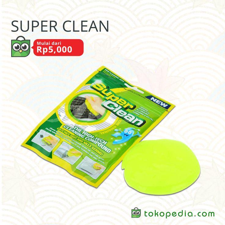 Super Clean mulai dari Rp 5.000,- di https://www.tokopedia.com/hot/super-clean