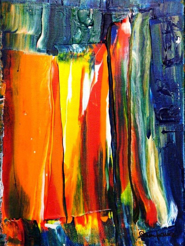 "Saatchi Art Artist Riccardo Campana; Painting, ""ACRYLIC AFTERNOON (SOLD)"" #art"
