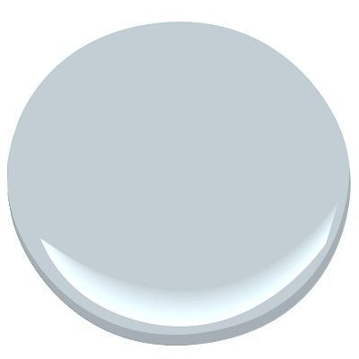 Benjamin Moore Mt. Rainier Gray-a stately shade of blue-gray that is soft serene and sophisticated.