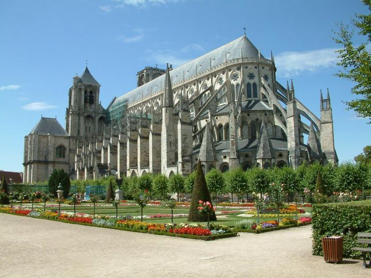Bourges Cathedral, France - Pixdaus
