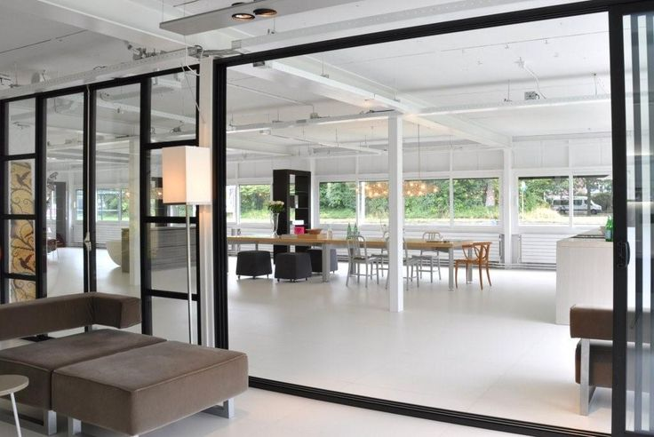 Sliding doors | Showroom Sjartec | Tudor | MINIMAL-LINE | www.tudor-kozijnen.nl/