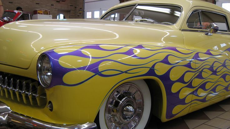 Ed Brown's garage is located near Leechburg PAFlames Job, American Cars, Brown Shops, Muscle Cars, Nice, Mobiles Auto, Brown Garages, Auto Painting, Lead Sled