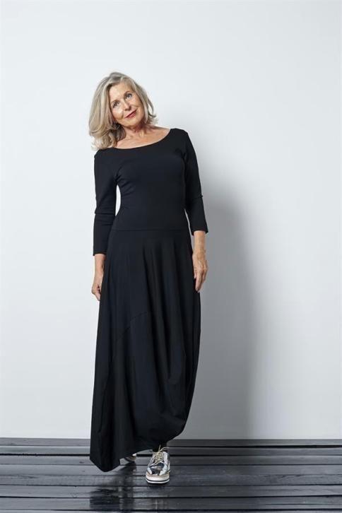 ≥ GEZOCHT lange zwarte jurk Cora Kemperman mt L / XL - Merkkleding | Jurken - Marktplaats.nl