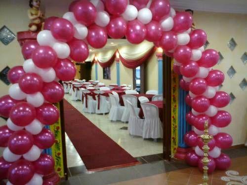 Como hacer un arco de globos para fiestas