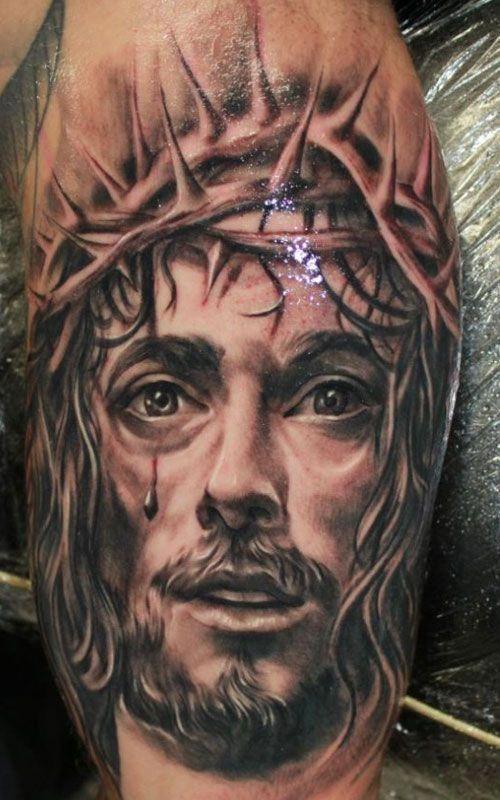 Jesus Christ Tattoo For Men Tattoosformenideas Artistas Del
