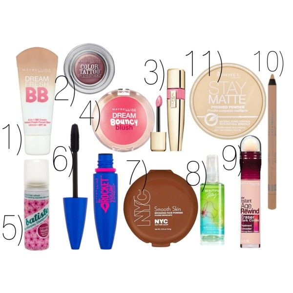 """""""Must Have Beauty Products for Summer"""" by bramblewoodfashion on Polyvore"""