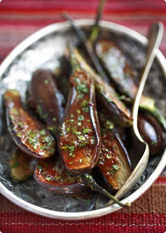 Eggplant Stewed in Honey and Spices by The Traveler's Lunchbox, via Flickr
