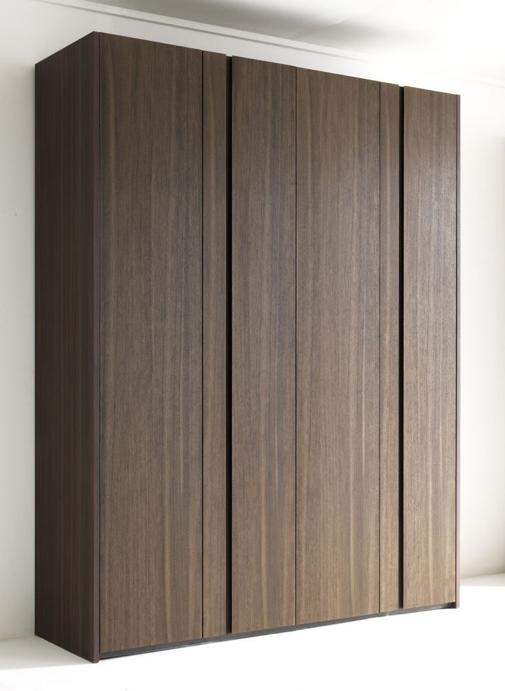 Wooden wardrobe custom naica collection by lema