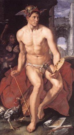 Гермес – один из самых «многофункциональных» олимпийцев. Сын Зевса и плеяды Майи, он служит посланцем богов к людям. Именно он, согласно мифологии, изобрел систему мер, числа, азбуку и обучил людей. При этом Гермес считается покровителем границ, путешественников, воров, ораторов, послов, литературы, поэтов, торговли и атлетов.