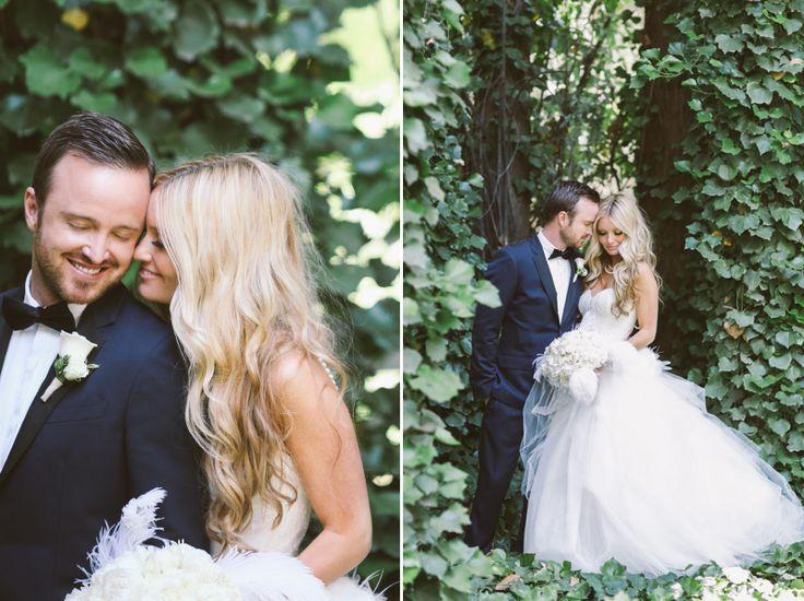 Aaron Paul and Lauren Parsekian's wedding.