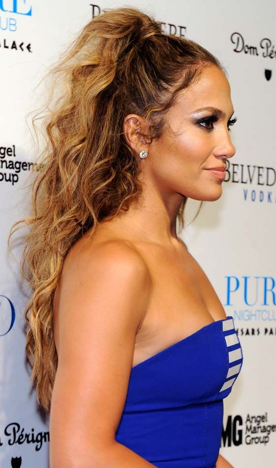 GIRLS WITH CURLS..J LO LOOKING LAM W/HER HALF UP DO..BELLADONNA