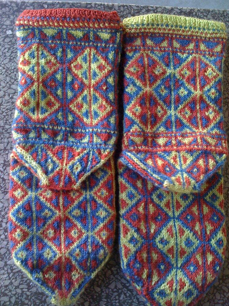 17 Best images about knit socks on Pinterest Fair isles ...