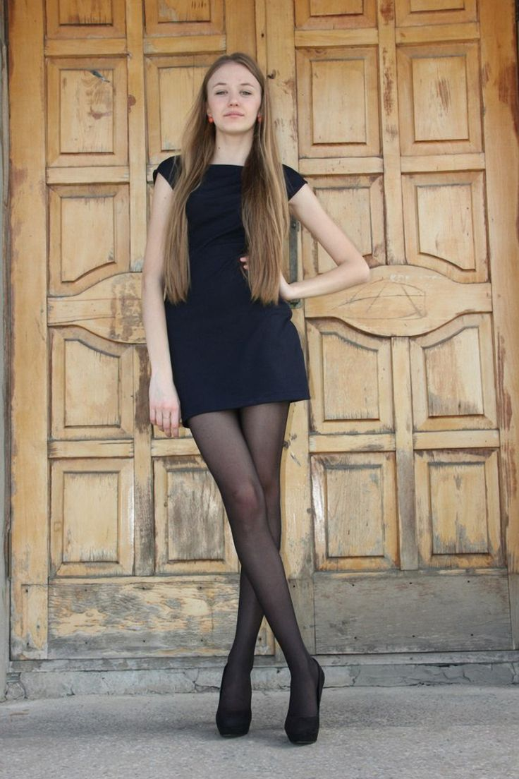Girl in nylons