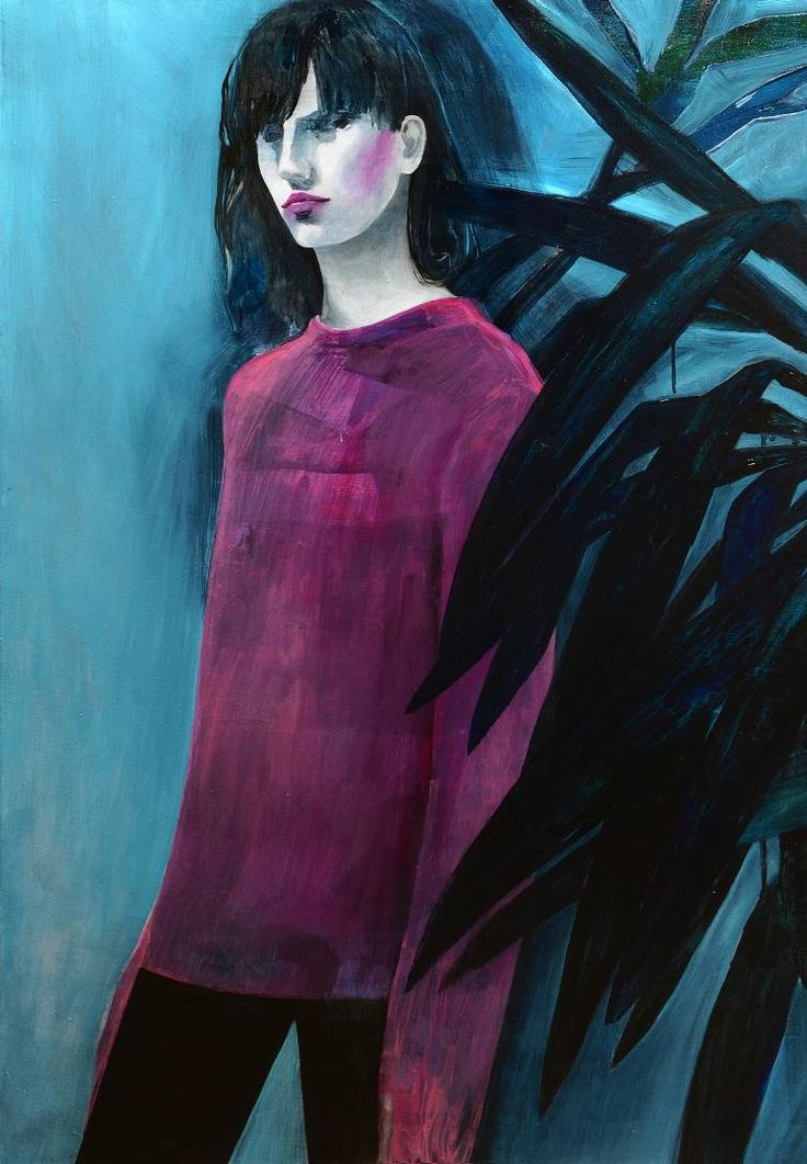 "Saatchi Art Artist Ewa Zwarycz; Painting, ""No title"" #art"