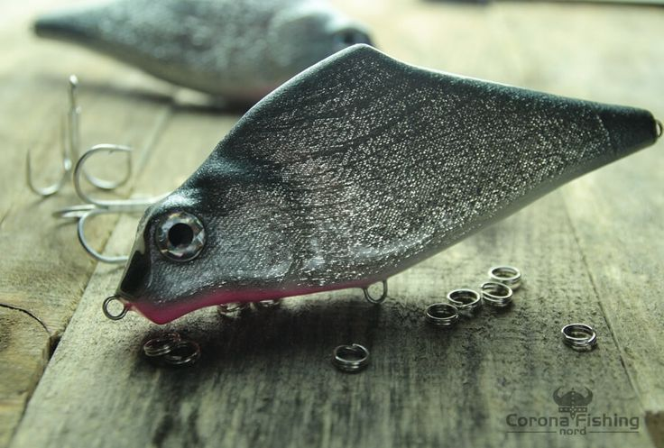 Big Havok - imitacja leszcza do połowu szczupaków #wędkarstwo #przynęty #jerki #handmade