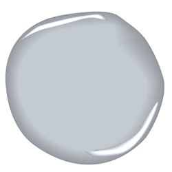 Benjamin Moore Silver Gray - ceiling color and maybe bath?