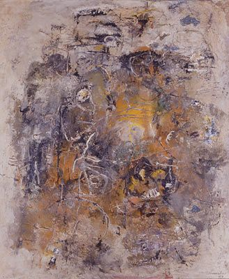Emil Schumacher Taras Bulba, 1957 Öl auf Leinwand, 146,6 x 120,3 cm