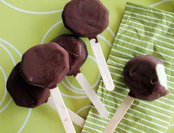 Hjemmelaget sjokolade-kiwi-is