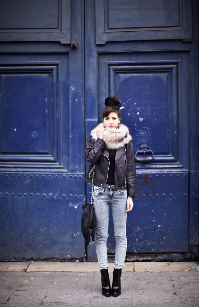 The come-back of my snood | Le Blog de Betty - cute winter style to keep in mind!