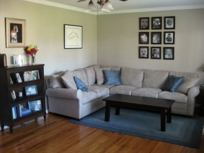 Julie s living room makeover for Living room makeovers