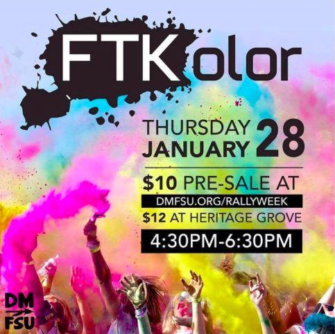 Dance Marathon is just around the corner, here's how FSU gets pumped up #FTK!