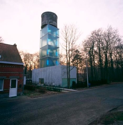 Water Tower House by Jo Crepain : TreeHugger